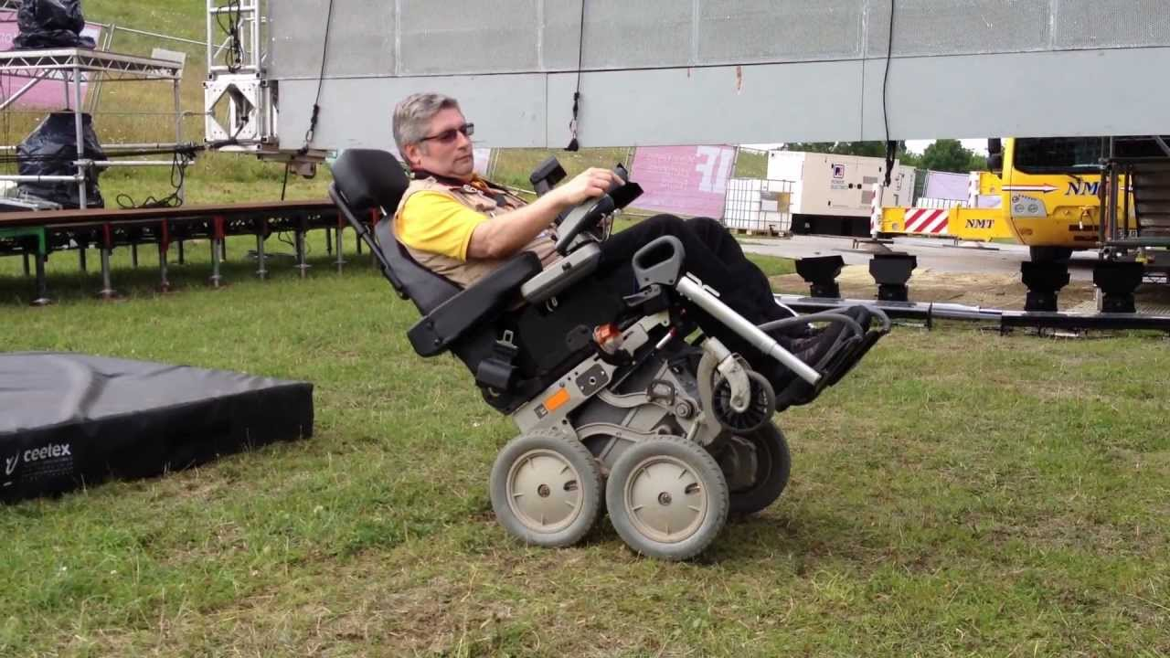 ibot 4000 mobility system wheelchair in action at the milton keynes