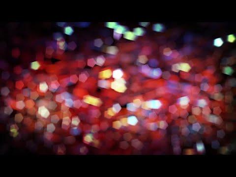 Holiday Bokeh Lights Motion Graphics