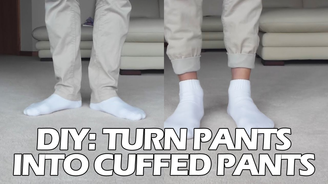 7e671087587 DIY  Turn Pants into