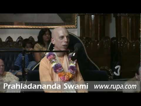 Prahladananda Swami - Harinam Initiation of Ananta dasi (Angela)