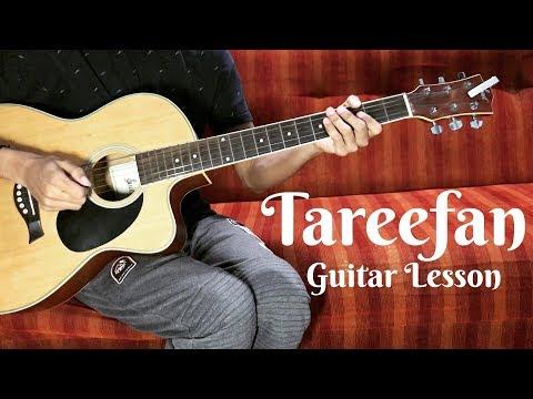 Tareefan Guitar Chords Tutorial - Veere Di Wedding | QARAN Ft. Badshah