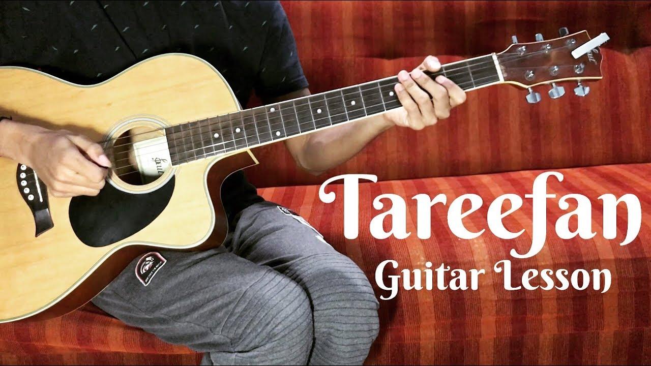 Tareefan Guitar Chords Tutorial Veere Di Wedding Qaran Ft
