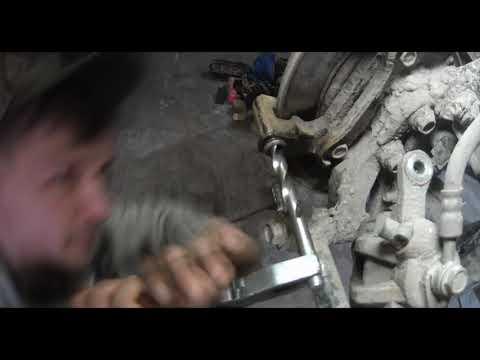 Шевроле Лачетти тонкости замены задних колодок