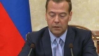 Медведев подписал решение о продлении продэмбарго еще на год