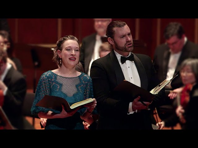 GF Handel - Jephtha: 'These labours past, how happy we' - Randall Scotting & Ava Pine