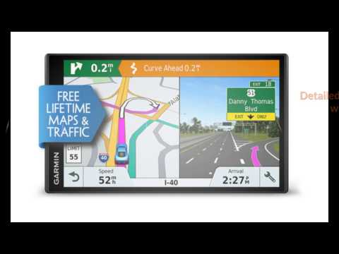 Newest Garmin DriveSmart 61 NA LMT-S with Lifetime MapsTraffic Overview
