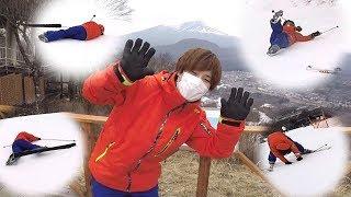ヒラの休日『軽井沢で10年ぶりのスキーを楽しむ男達』