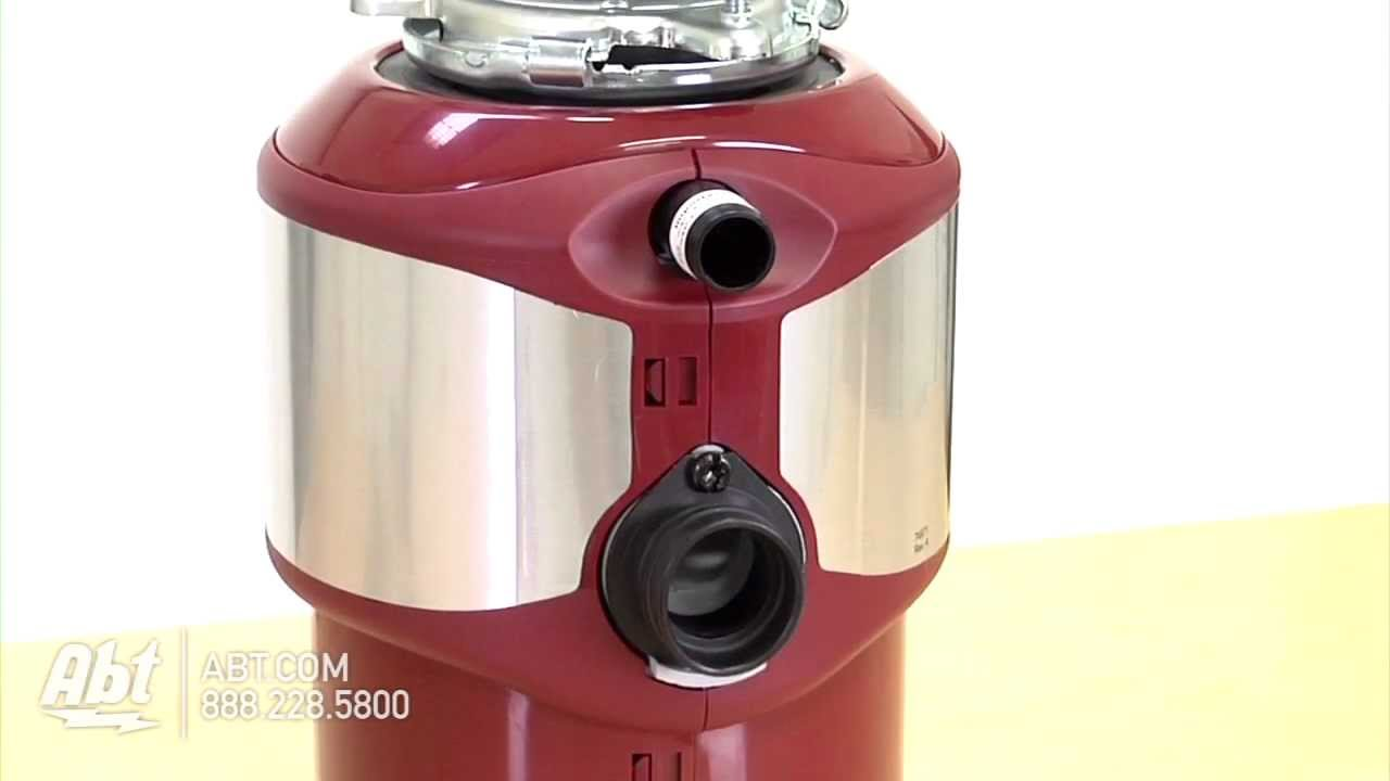 kitchen disposal task lighting kitchenaid continuous feed garbage kcds075t youtube