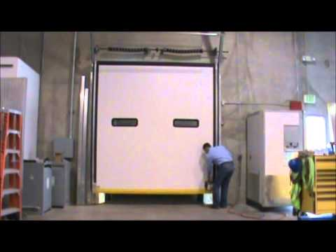 Dock Lock Tm Loading Dock Door Youtube