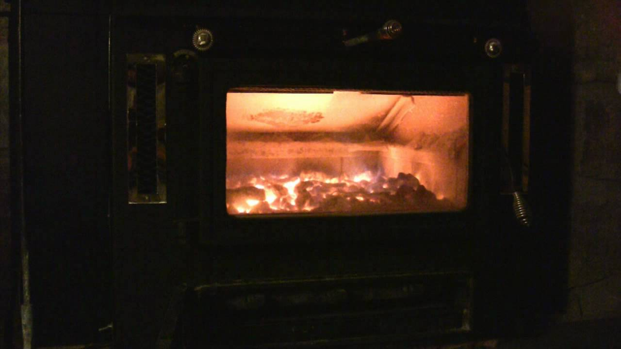tending a hand fired coal stove youtube