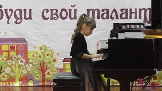 """Мартиросян Маргарита. """"Ф.Шпиндлер """"Сонатина"""" соч. 157 №4"""