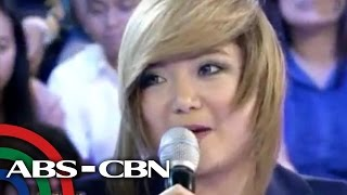 Charice does impersonations on