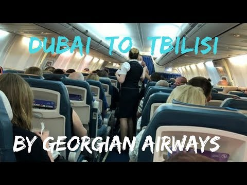 Dubai To Tbilisi || Georgian Airways || Al Maktoum International Airport | Dubai