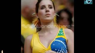 Cheerleaders Brazil World Cup 2014 HD مشجعات البرازيل كأس العالم 2014