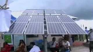 Solar irrigation project open in Bangladesh