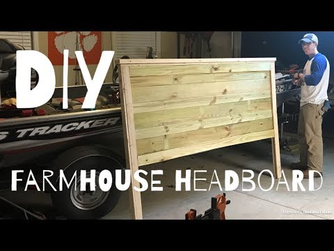 EASY DIY FARMHOUSE HEADBOARD || Sunday Shenanigans VLOG