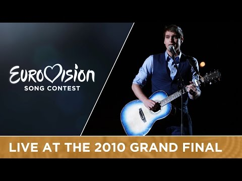 Tom Dice - Me And My Guitar (Belgium) Live 2010 Eurovision Song Contest
