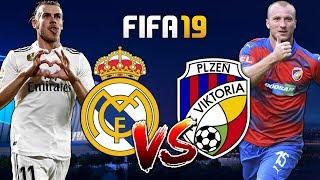 FIFA 19 CZ | Viktoria Plzeň - Real Madrid | Hvězdy proti Viktorce! | CZ/SK