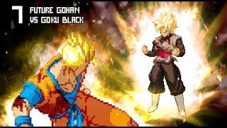[What-If] Goku Black VS Future Gohan.