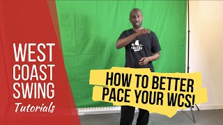 How to pace yourself during your dance - WCSA Tutorial with Gordon Mac Donald
