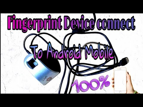How To Connect Mantra Biometric Fingerprint Device To Android Mobile