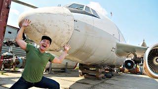 Купили на аукционе самолет за 550 тысяч и сделали бизнес