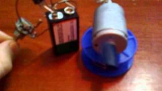 Простой регулятор скорости мотора
