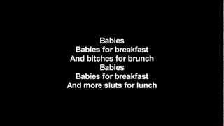 Lordi - Babez For Breakfast | Lyrics on screen | HD