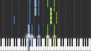 Ellie Goulding - Love Me Like You Do (50 Shades Of Grey) Piano Tutorial