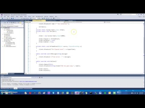 C# Websockets With IIS Server In 5 Minutes