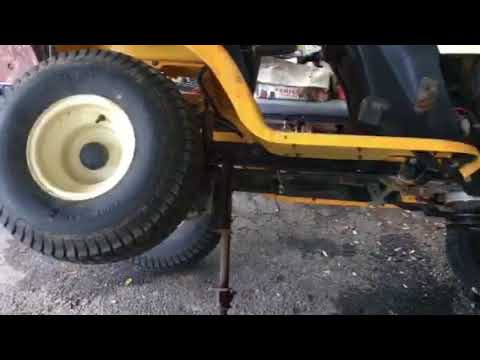 Part 2 How To Change The Drive Belt On A Cub Cadet Ltx 1046 Vt Youtube