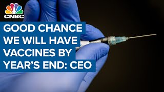 Good chance we will have effective Covid-19 vaccines by the end of 2020: Centivax CEO
