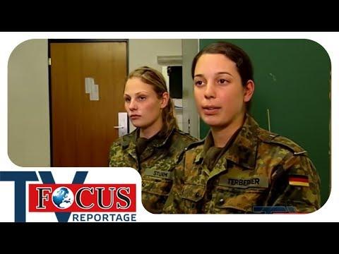 Rekrutinnen bei der Bundeswehr - Focus TV Reportage