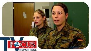 Grundausbildung Bund: Rekrutinnen bei der Bundeswehr | Focus TV Reportage