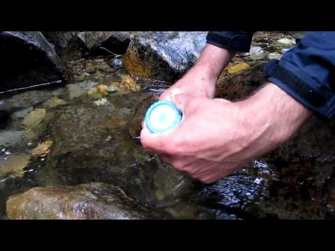 Cleaning an MSR water filter