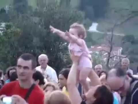 La Bambina che Vede la Madonna a Medjugorje