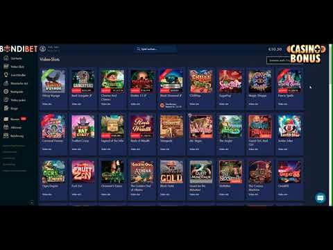 🚨 Casino Test BondiBet  - 50 Freispiele Ohne Einzahlung
