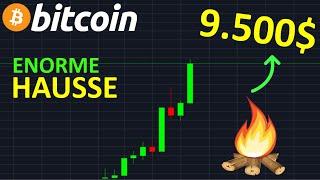 BITCOIN 9800$ OBJECTIF DE LA HAUSSE !? btc analyse technique crypto monnaie