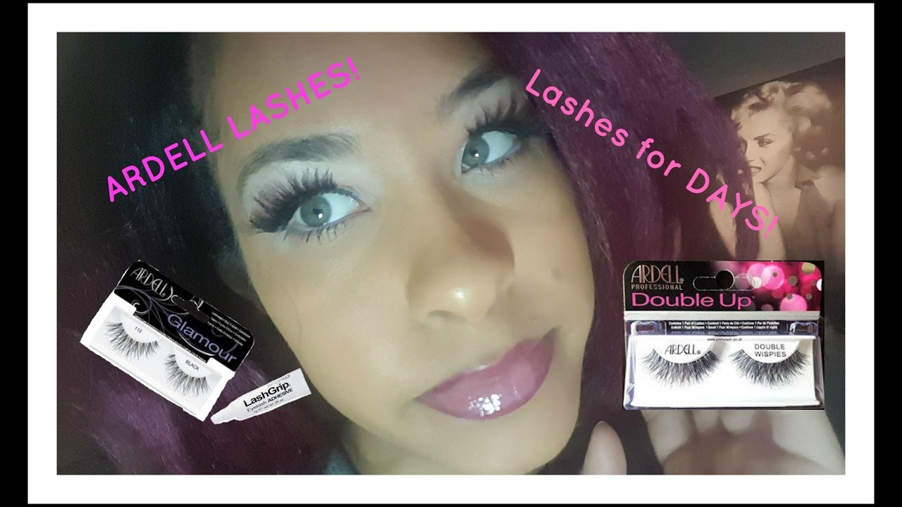 How To Put On Eyelashes Queen Youtube