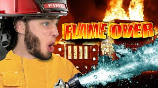 RESCUE THE DUMB LADY | Flame Over