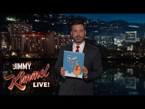 "Jimmy Kimmel's Children's Book ""How the Trump Saved Christmas"""