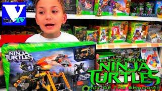 VLOG Магазин игрушек: ЧЕРЕПАШКИ НИНДЗЯ наборы МЕГА БЛОКС! MEGA BLOKS Teenage Mutant Ninja Turtles