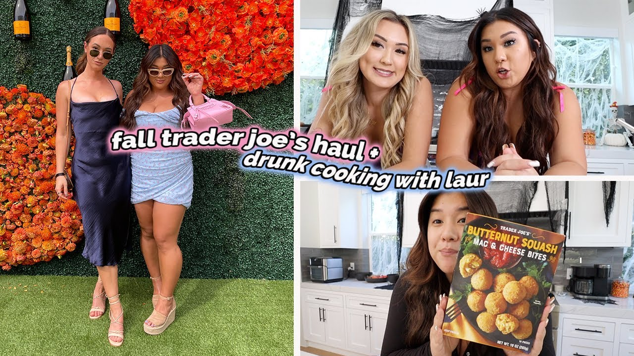 Download fall trader joe's haul, drunk cooking with laur + squishmallow hunting!!