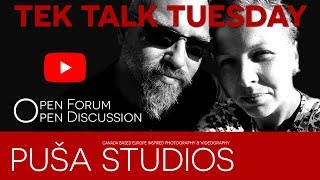 YouTube talk... Discussing RantJamz, June Gaul and channel Techniques, Tips & Tricks on Puša Studios