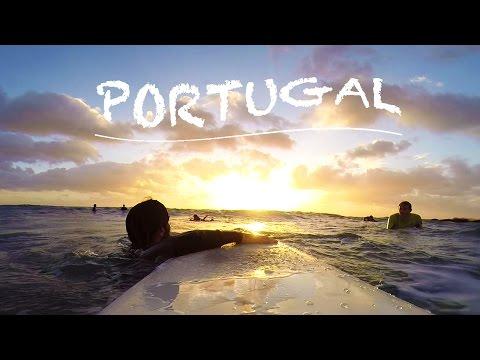 My Erasmus in Lisbon (GoPro 3 Black) - Summer and Surf in Portugal