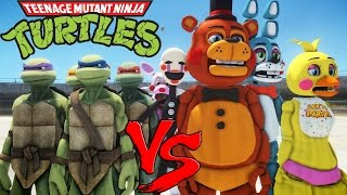 TEENAGE MUTANT NINJA TURTLES VS FIVE NIGHTS AT FREDDY