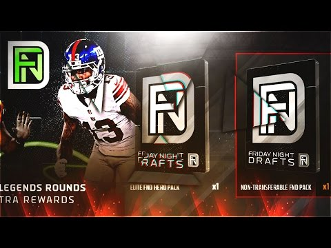 OMG! TWO FND ELITE PLAYER PACKS! TIM BROWN AND BOB SANDERS PACK OPENING! MUT 17 FND