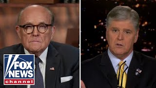 Rudy Giuliani responds to ongoing investigation on 'Hannity'