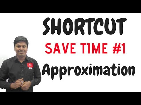 SAVE TIME #1 ( APPROXIMATION ) For IBPS PO 2017