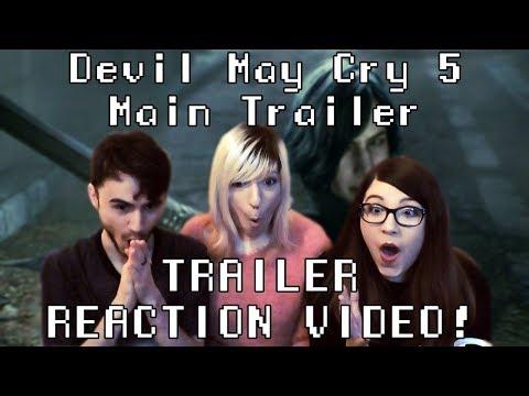 REACCIÓN tráiler Devil May Cry 5 | Main Trailer thumbnail